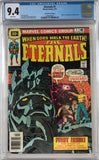 Eternals #1 CGC 9.4 White Pages ~30 Cent Price Variant~