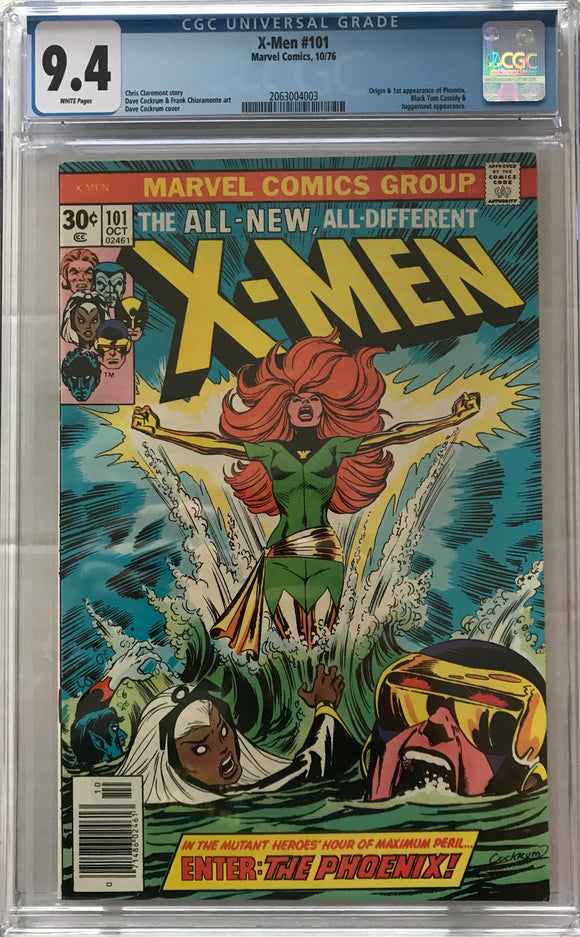 X-Men #101 CGC 9.4 White Pages