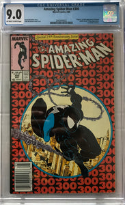 Amazing Spider-Man #300 CGC 9.0 Off-White to White Pages