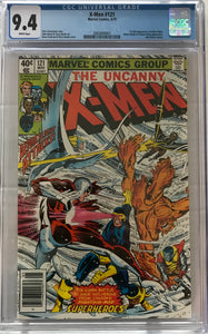 Uncanny X-Men #121 CGC 9.4 White Pages