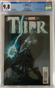 Thor #1 CGC 9.8 White Pages ~Robinson Variant Cover~