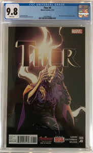 Thor #8 CGC 9.8 White Pages