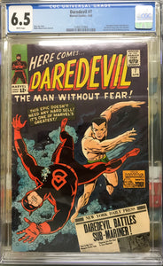 Daredevil #7 CGC 6.5 White Pages