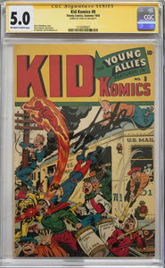 Kid Comics #8 CGC 5.0 Off-White to White Pages