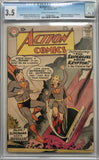 Action Comics #252 CGC 3.5 Cream to Off-White Pages