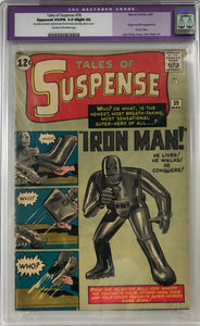 Tales of Suspense #39 CGC 5.0 Slight (A) Cream to Off-White Pages