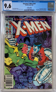 Uncanny X-Men #191 CGC 9.6 White Pages ~Canadian Price Variant~