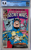 Marvel Super Heroes Secret Wars #7 CGC 9.4 White Pages ~Canadian Price Variant~