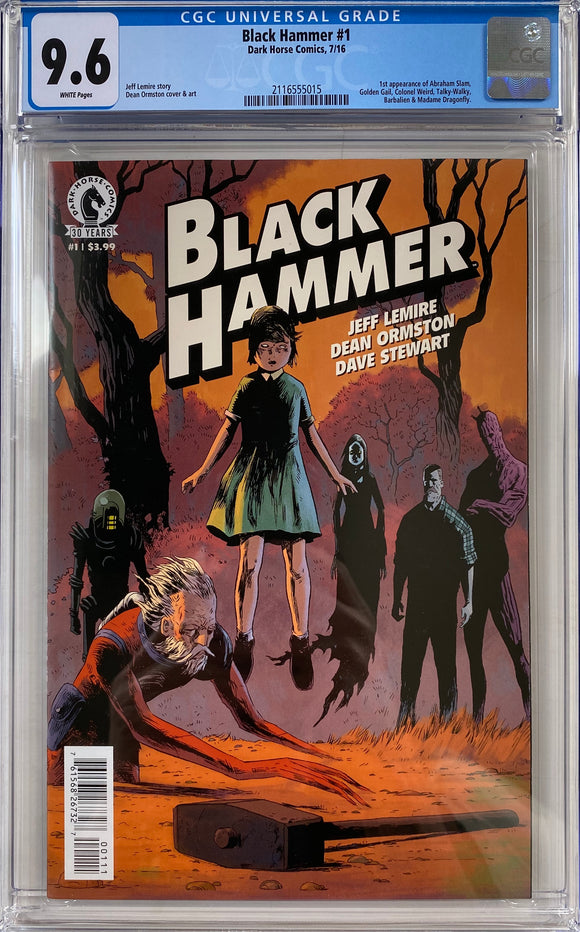 Black Hammer #1 CGC 9.6 White Pages