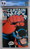 Captain America #354 CGC 9.6 White Pages