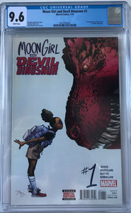 Moon Girl & Devil Dinosaur #1 CGC 9.6 White Pages