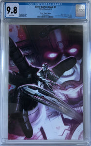 "Silver Surfer: Black #1 CGC 9.8 White Pages ~BROWN ""VIRGIN"" EDITION~"