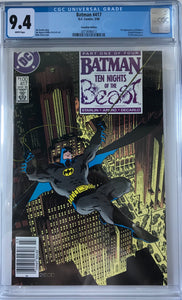 Batman #417 CGC 9.4 White Pages ~CANADIAN VARIANT~