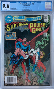 DC Comics Presents #56 CGC 9.6 White Pages ~CANADIAN VARIANT~