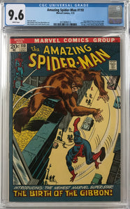 Amazing Spider-Man #110 CGC 9.6 White Pages