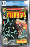 Eternals #1 CGC 8.5 White Pages ~30 CENT VARIANT~