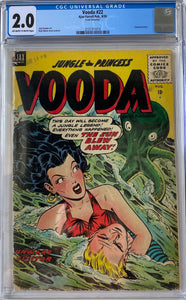 Vooda #22 CGC 2.0 Off-White to White Pages