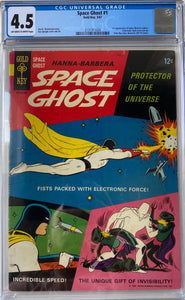 Space Ghost #1 CGC 4.5 Off-White to White Pages