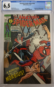 Amazing Spider-Man #101 CGC 6.5 White Pages