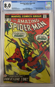 Amazing Spider-Man #149 CGC 8.0 White Pages