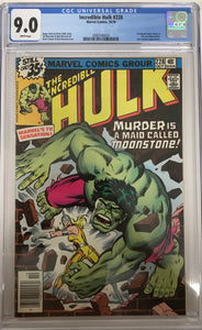Incredible Hulk #228 CGC 9.0 White Pages
