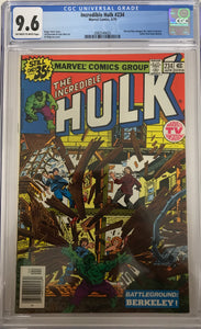 Incredible Hulk #234 CGC 9.6 White Pages