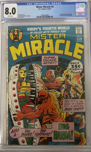 Copy of Mister Miracle #4 CGC 8.0 White Pages
