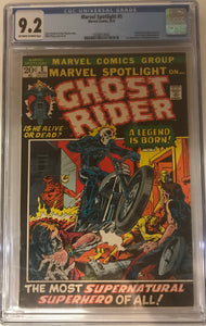 Marvel Spotlight #5 CGC 9.2 Off-White to White Pages