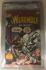 Werewolf By Night #32 CGC 9.2 Off-White to White Pages