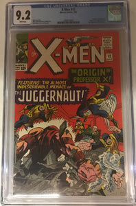 X-Men #12 CGC 9.2 White Pages