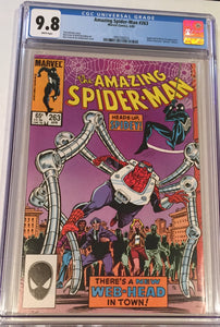 Amazing Spider-Man #263 CGC 9.8 White Pages