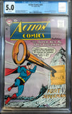 Action Comics #241 CGC 5.0 White Pages