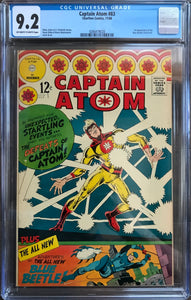 Captain Atom #83 CGC 9.2 Off-White To White Pages