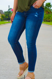 Kancan Katelyn Mid Rise Denim