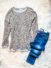 Load image into Gallery viewer, Brushed Leopard Pullover Top