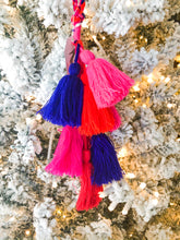 Load image into Gallery viewer, Layered Tassel Pom