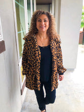 Load image into Gallery viewer, A Wild Night Leopard Lightweight Jacket