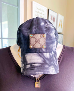 Upcycled Baseball Hat- Tie Dye