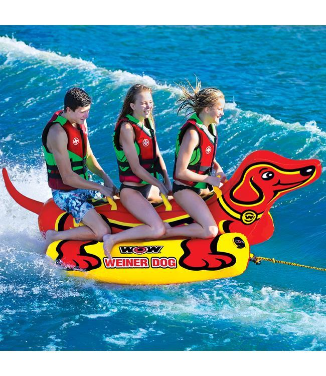 WOW Wiener Dog 3 Ski Tube - Waterskiers World