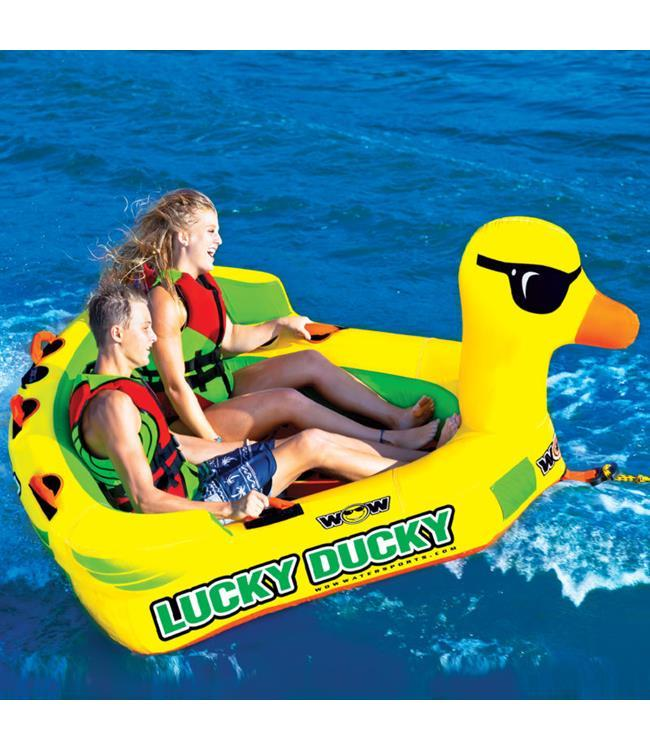 WOW Lucky Ducky Ski Tube - Waterskiers World