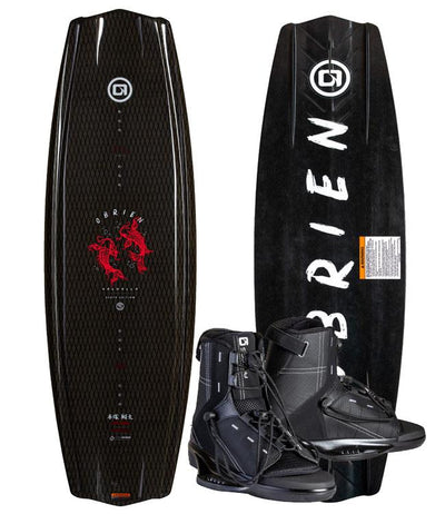 OBrien ST Valhalla Wakeboard Package with Access Boots (2020)