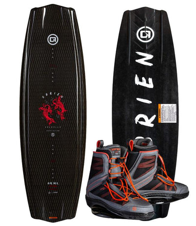 OBrien ST Valhalla Wakeboard Package with Infuse Boots (2020) - Waterskiers World