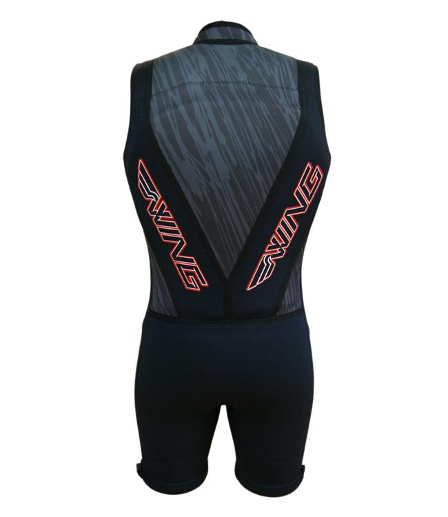 Wing Pro Mens Barefoot Suit (2018) - Black Front