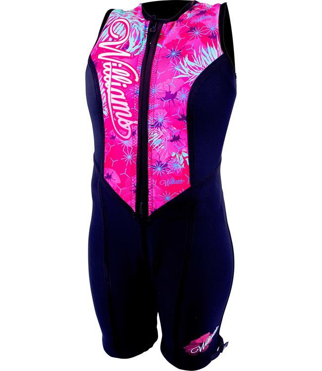 Williams Eden Womens Buoyancy Suit (2019) - Pink