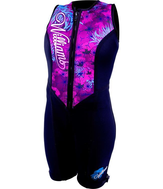 Williams Eden Womens Buoyancy Suit (2019) - Purple