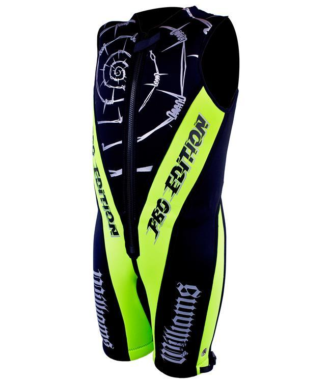 Williams Pro Edition Barefoot Suit (2021) - Lime