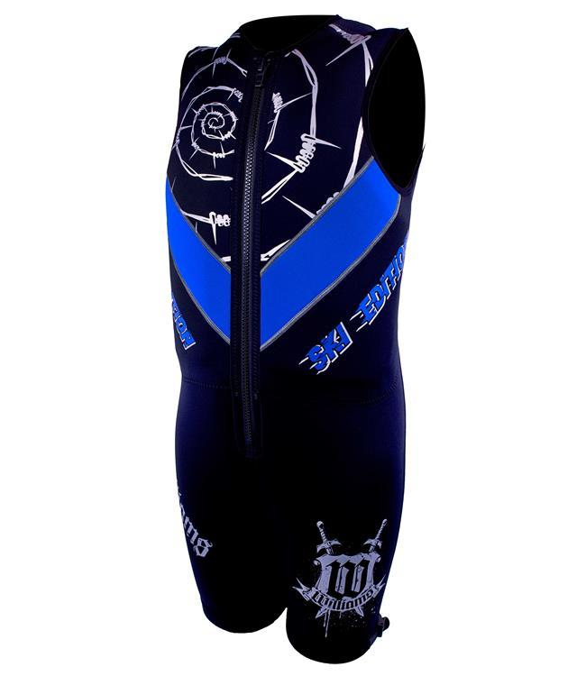 Williams Ski Edition Mens Buoyancy Suit (2021) - Blue
