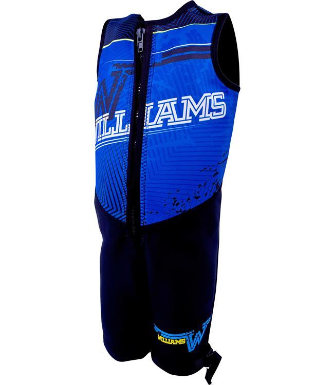 Williams Urban Youth Buoyancy Suit (2020) - Blue