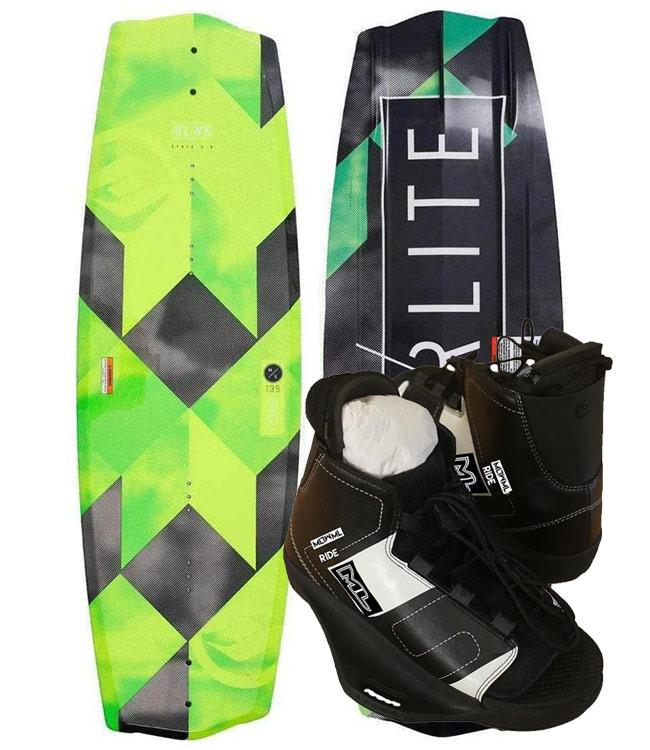 Hyperlite State Wakeboard Package with Ride Boots