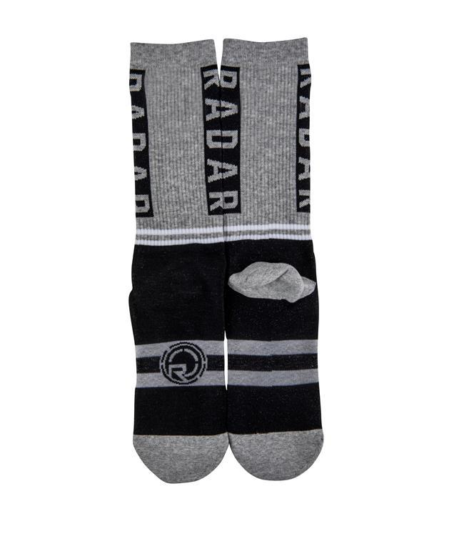 Radar Crew Socks - Grey